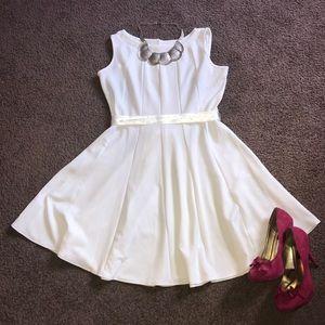 White tennis dress